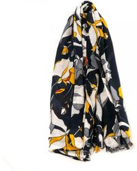 French Connection - Harley Printed Womens Scarf - Lyst