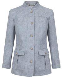 Dubarry - Malahide Linen Ladies Jacket - Lyst