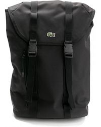 Lacoste - Mens Flap Backpack - Lyst