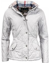 Barbour Millfire Quilted Womens Jacket - Multicolour