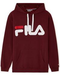 Fila - Classic logo hood - Lyst