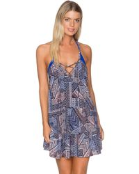 Sunsets Swimwear - Riviera Dress Cover Up Sere - Lyst