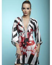 Baccio Couture - Shy - Silk Short Dress - Lyst