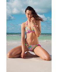 Voda Swim - Lanai Envy Push Up Double String Bikini Top - Lyst