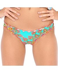 Luli Fama | Suenos Estrellados Wavey Brazilian Ruched Bottom In Multicolor (l) | Lyst