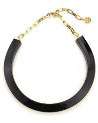 Ben-Amun - Black Resin Collar Necklace - Lyst