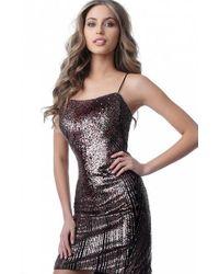 143172f746a Jovani Sleeveless Black Fitted Prom Dress Jvn in Black - Lyst