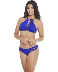 AlmaMia Swimwear - Pacifica Bib Bottom P - Lyst