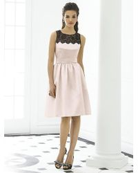 After Six - Dress In Blush - Lyst