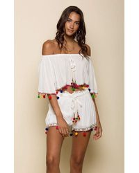 66058e7f99 Raga - Havana Daze Off Shoulder Crop Top - Lyst