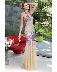 Alyce Paris - Prom Dress In Purple - Lyst