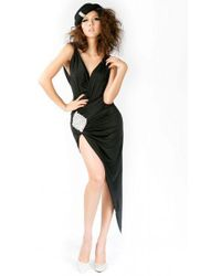 Savee Couture - Matter Of Heart Dress In Black - Lyst
