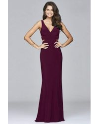 726bdde4afc Forever Unique Tiara Long Sleeve Maxi Dress With Cut Outs And ...