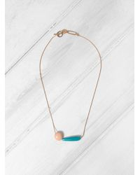 Helena Rohner - Drop & Disc Necklace - Lyst
