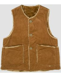 Engineered Garments - Over Vest 8w Corduroy - Lyst