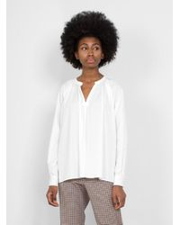 6397 - Long Sleeve Peasant Shirt - Lyst