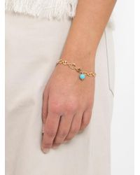Helena Rohner - Oval Link Bracelet With Stone Bead - Lyst