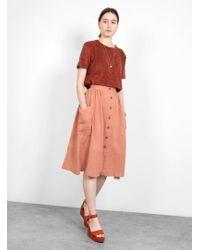 SIDELINE - Flora Skirt - Lyst