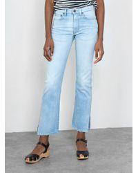 6397 - Split 70's Jeans - Lyst