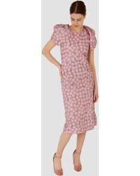 A Detacher - Darling Dress Pink Multi Floral - Lyst
