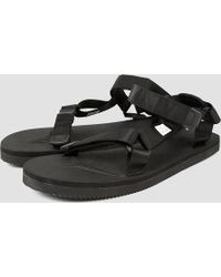 Suicoke - Depa Sandals Black - Lyst