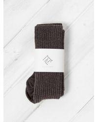 Baserange - Merino Wool & Silk Overknee Socks - Lyst
