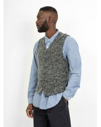 Engineered Garments - Knit Vest Boucle - Lyst