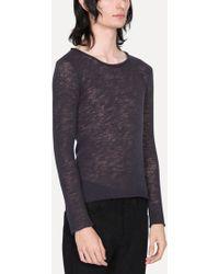 Lumen Et Umbra - Wool Long Sleeve T-shirt - Lyst