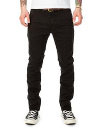 Nudie Jeans - Slim Adam Black - Lyst
