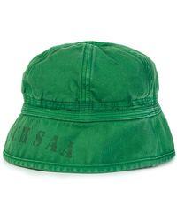 Nigel Cabourn - Lybro Drill Bucket Hat Deck Green - Lyst