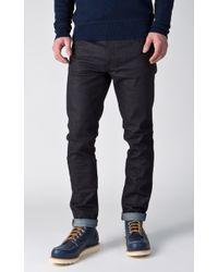 Nudie Jeans - Nudie Jeans Lean Dean Dry Deep Dark 12oz - Lyst