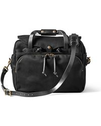Filson - Padded Computer Bag Black - Lyst