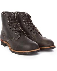 Red Wing - 8116d Iron Ranger Charcoal - Lyst