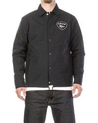 Deus Ex Machina - Bench Coach Jacket Black - Lyst