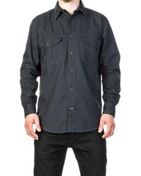 Filson - Lightweight Alaskan Guide Shirt Midnight Navy - Lyst
