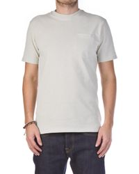 Filson - Outfitter Solid One Pocket Shirt Pebble Grey - Lyst
