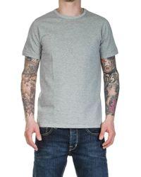 Merz B. Schwanen - 215 Army Shirt 1/4 Greymelange - Lyst