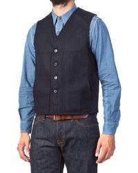 Filson - Mackinaw Wool Vest Navy - Lyst