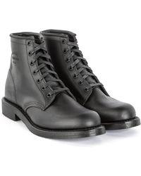 "Chippewa Boots - Chippewa 6"" Trooper Service Boot Black - Lyst"