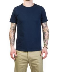 Merz B. Schwanen - 215 Army Shirt 1/4 Ink Blue - Lyst