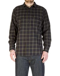 Filson - Lightweight Alaskan Guide Shirt Black - Lyst
