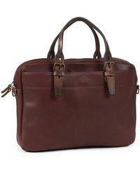 Bleu De Chauffe - Business Bag Folder Tourbe - Lyst