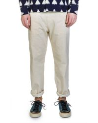Universal Works - Fatigue Pant Natural Twill - Lyst