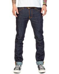 Nudie Jeans - Thin Finn Dry Ecru Embo 10.75oz - Lyst