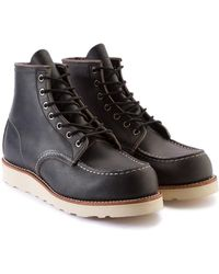 Red Wing - 8890d Moc Toe Charcoal Rough & Tough - Lyst
