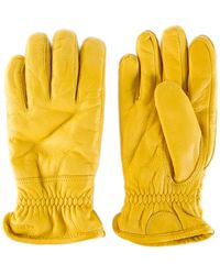 Hestra - Sport Classic Deerskin Winter Natural Yellow - Lyst