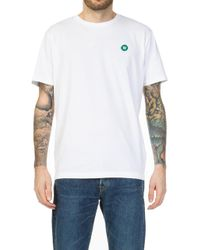 WOOD WOOD - Ace T-shirt White - Lyst