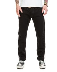 Edwin - Ed-55 Cs White Listed Black Selvage Rinsed - Lyst