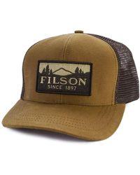 Filson - Logger Mesh Cap Dark Tan - Lyst