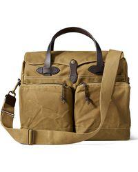 Filson - 24-hour Tin Briefcase Tan - Lyst